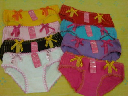 Panty 10 yellow, red, baby pink, blue, black, purple, white, shocking pink
